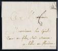 France Lettre 1781  Paris  A Lille, Cachet P, Lille Est Belgique, Flandre A 1781 ! - 1701-1800: Précurseurs XVIII