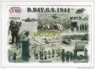 D. DAY .6.6. 1944 -   Circuit Des Plages Du Débarquement En Normandie - NORMANDY LANDING BEACHES  - N° A 2205 - Guerre 1939-45