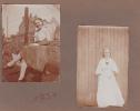 Deux Photos Femme Belge Belgique Année 1930-1931. 7 X11 Cm - Photos