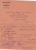 18548. Ambassade De Belgique En France Carte De ? Pour Kiekens Jean, Fils Willy, Commerçant Belge Humbeck. Laissez-passé - Vieux Papiers