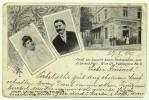 AUSTRIA - WIEN / VIENNA, Leopold Amons Restauration, Advertising Postcard, 1909. - Wien