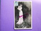 CPA - TOLEDO FLEURS Cliché REUTLINGER, Femme, Robe Légère, Artiste Spectacle, Fleur, Photo Et Aquarelle, Carte Colorisée - Artistes