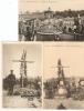 Rabosée - Barchon : Tombes De Soldats Belges  ------ 3 Cp ----3 Kaarten - Liège