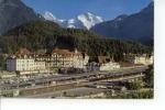 Interlaken Bahnhofplatz Mit Mönch Und Jungfrau - BE Berne