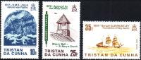 ( 1688 ) Trista Da Cunha - Ships - Ship's Bell Church .  1817 - 1898 - Maritime