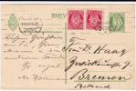 NORVEGE - 1921 - CARTE POSTALE ENTIER POSTAL De BERGEN Pour BREMEN (ALLEMAGNE)