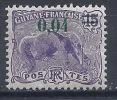 OO--052-  N° 83,  * ,  COTE  0.80 €,    SCAN DU VERSO SUR DEMANDE, LIQUIDATION - Guyane Française (1886-1949)