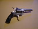 Revolver Type Lefaucheux-pour Dame- 6 Coups -cal. 7mm- Gravé-L.17 Cm- Trés Beau - Armes Neutralisées