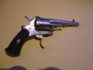 Revolver Type Lefaucheux- 6 Coups -cal. 7mm- L.18 Cm- Canon Octogonal- Trés Beau - Armes Neutralisées
