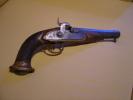 Pisolet Ancien- Calibre 15 Mm- Canon Octogonal- Longueur 32 Cm- Trés Beau -estampillé ELG - Armes Neutralisées