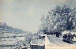 Embrun L'hiver - Le Roc Et La Vallée De La Durance ( Sous La Neige ) - Embrun