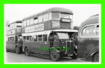 PHOTO - TROLLEY BUS , ST 866 - LONDON TRANSPORT - PLATE No GJ 2042 - - Photos