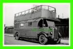 PHOTO - TROLLEY BUS , ST 865 - LONDON TRANSPORT - PLATE No  GJ 2041 - - Photos