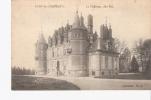 FRANCE     CPA  1917    RARE   EVRY LES CHATEAUX  LE CHATEAU COTE EST  AVEC PERSONNAGES     TRES RARE      VOIR   SCAN - Unclassified