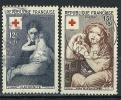 """FR YT 1006 & 1007 """" Croix-Rouge """" 1954 Oblitéré - Usati"""