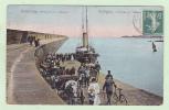 CPA ALDERNEY AURIGNY L'arrivée Du Courier - Alderney