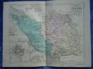 -Malte Brun-1854-Carte Géographique De La Vendée-Plan De Napoléon Vendée- - Geographical Maps