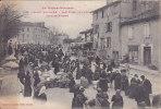 """Cpa  Ref-JP-429  ( Dép 31 )     Le Jour Du Marché       """" Bld De L' Ouest  """"      à  ST-GAUDENS - Saint Gaudens"""