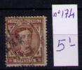 ESPAÑA 1874 - ALFONSO XII - EDIFIL Nº 174 - 1872-73 Reino: Amadeo I