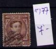 ESPAÑA 1874 - ALFONSO XII - EDIFIL Nº 177 - 1872-73 Reino: Amadeo I