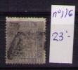 ESPAÑA 1872 - CIFRAS  - EDIFIL Nº 116 - 1872-73 Reino: Amadeo I