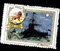 Vignette DELANDRE - England HMS LION - 1914 - 1918 WWI WW1 Cinderella Poster Stamps Seals France - Cinderellas