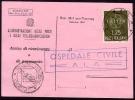 1959 - Italia/Italy/Italie - Europa / CEPT Isolato Su Ricevuta Di Ritorno / PostEurop - 1946-.. République