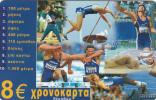 GREECE - Sports/Decathlon, Amimex Prepaid Card 8 Euro, Tirage %5000, Used - Sport