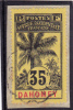 DAHOMEY - 1906 - YVERT N° 26 OBLITERE Sur FRAGMENT - COTE = 15 EUROS - Used Stamps
