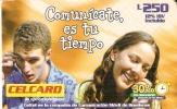 TARJETA DE HONDURAS DE 250 LEMPIRAS DE CELCARD 30% DE DESCUENTO - Honduras