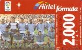 TARJETA DE ESPAÑA DE FUTBOL DEL CELTA DE VIGO  (FOOTBALL) AIRTEL - Airtel