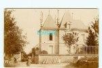 CARTE PHOTO à IDENTIFIER -  Château En ANJOU ?? - Cartes Postales