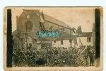 CARTE PHOTO à IDENTIFIER - église - Vélo - Bicyclette - Cartes Postales