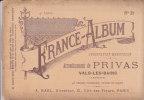 FRANCE-ALBUM N°39 - Arrondissement De PRIVAS - VALS-les-BAINS - 43 Dessins Originaux , Notice Et Carte - 1901-1940
