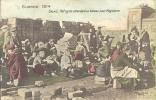 62. Calais - Guerre 1914 - Réfugiés Attendant Un Bateau Pour L'Angleterre - Calais