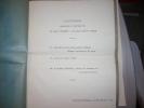 DISCOURS PRONONCE AU MARIAGE:  MONSEIGNEUR DELAY  Etc..... - Documentos Antiguos