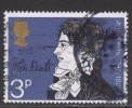 GB ~ Literary Anniversaries ~ SG 884 ~ 1971 ~ Used - 1952-.... (Elizabeth II)