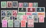 1948 ANNEE COMPLETE YEAR SET JAHRGANG YOUGOSLAVIE JUGOSLAWIEN YOGOSLAVIA YT 482 - 511 **   SLOVENIE  MONTENEGRO SERBIE - Yugoslavia