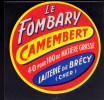 ETIQUETTE CAMEMBERT LE FOMBARY - Cheese