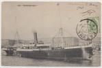 Cpa Messagerie Maritime Paquebot Mixte Le Bosphore De Batoum Georgie 1907 Vers Paris Pour Le Comte De Fleurieu - Piroscafi