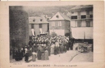SEINTEIN LES BAINS PROCESSION AU REPOSOIR (BELLE ANIMATION) 1927 - Frankreich
