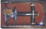 Cuba-cruz De La Parra Baracoa-5/2000-used Card-tirage-30.000+1 Card Prepiad Free