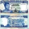 SWAZILAND 10 Emalangeni 2006 P-29c UNC - Coins & Banknotes