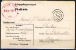 B.11.SEP.586.  BRIEFKAART VAN GEVANGEN MILITAIR NAAR NEDERLAND.  1943.  CENSUUR. - 1891-1948 (Wilhelmine)