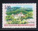Liechtenstein Scott #1077 MNH 5fr Vaduz Castle - Liechtenstein