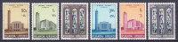 Ruanda-Urundi 1961 Mi. 183-88 A Kathedrale Von Bujumbura Complete Set MNH** - Ruanda-Urundi