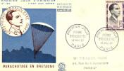 FRANCE FDC 1103 1957 - 1950-1959