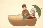 CPA ILLUSTRATEUR DESSIN ENFANT ENFANTS ** ARTIST  SIGNED DRAWN CARD CHILD CHILDREN  ** J. V. A. DUTCH HOLLANDAISE - Illustratori & Fotografie