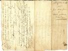 Document 1783 - Cachets Généralité