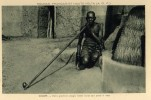 SOUDAN FRANCAIS Et HAUTE-VOLTA (A.O.F.) -  SOUDAN - Vieille Grand Mère Fumant La Pipe - Burkina Faso